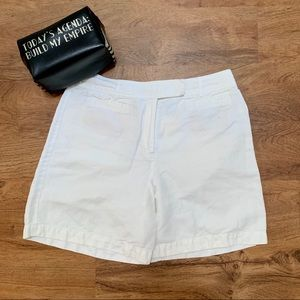 Talbots Irish linen shorts white size 14 #309